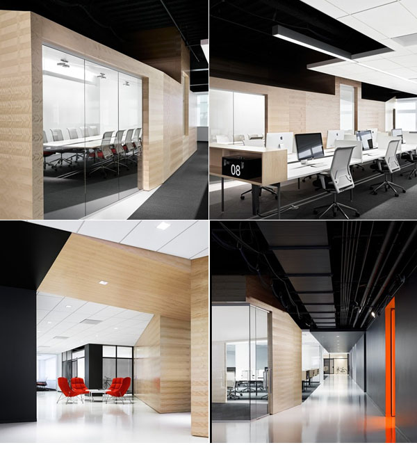 办公家具-开放型办公环境设计