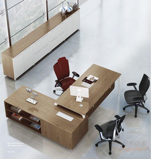 现代大班台,,现代大班台-办公桌组--深圳办公家具